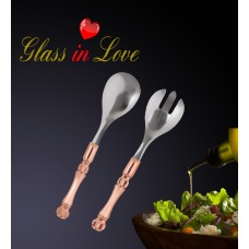 Glass İn Love Salata Servis Seti